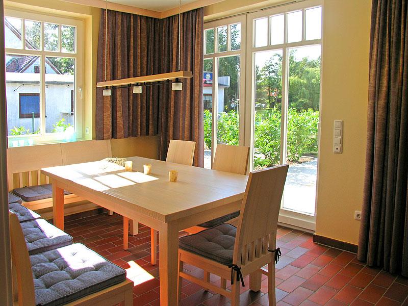 Essbereich im Ferienhaus Sundevit 2