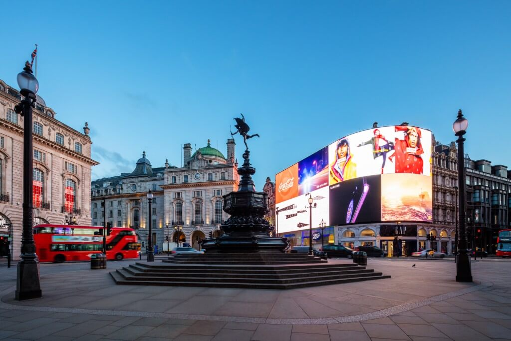 Piccadilly Circus | © visitlondon.com/Jon Reid