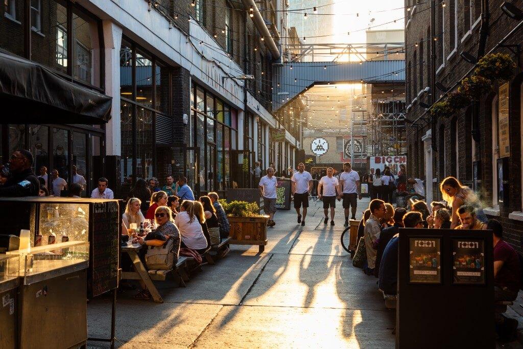 Brick Lane, Spitalfields | © visitlondon.com/Jon Reid