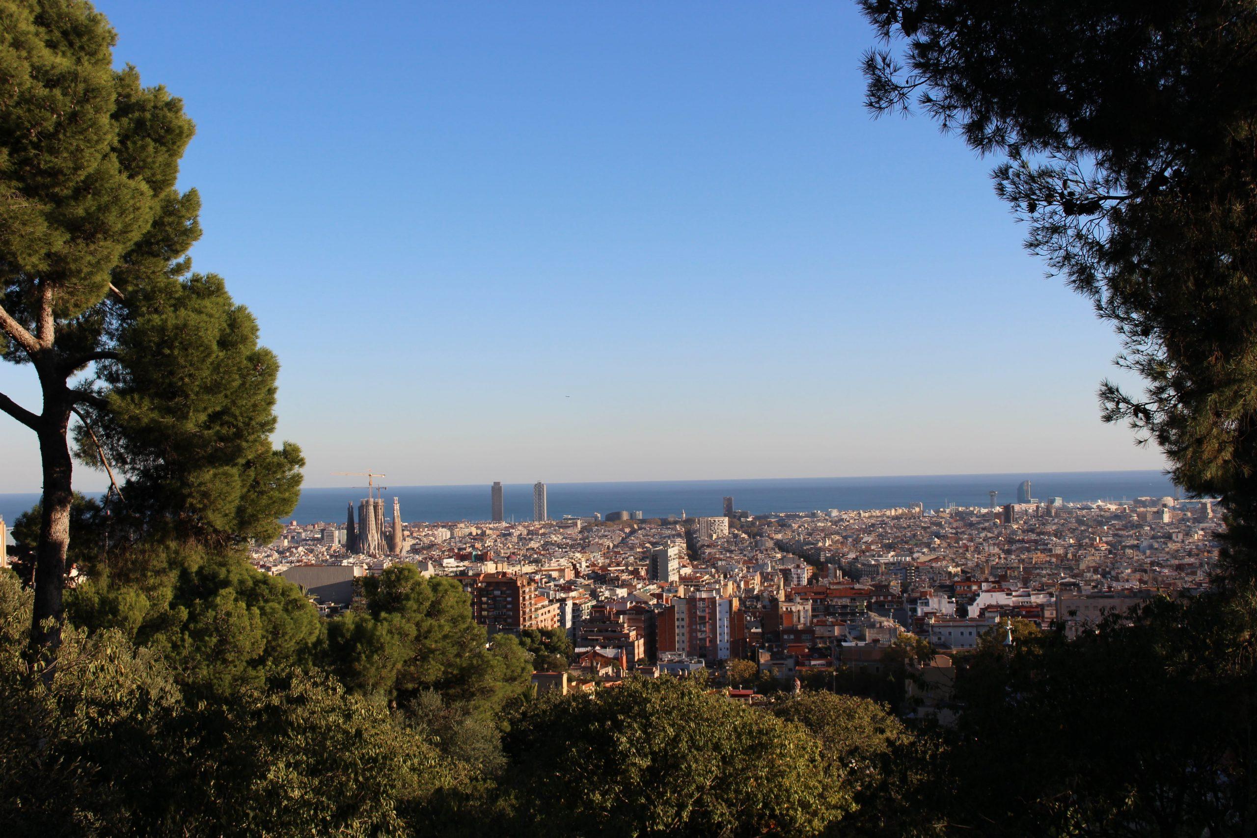 Barcelona und Meer...