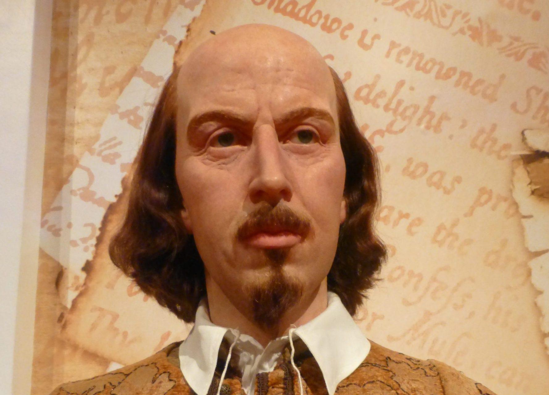 William Shakespeare bei Madame Tussauds