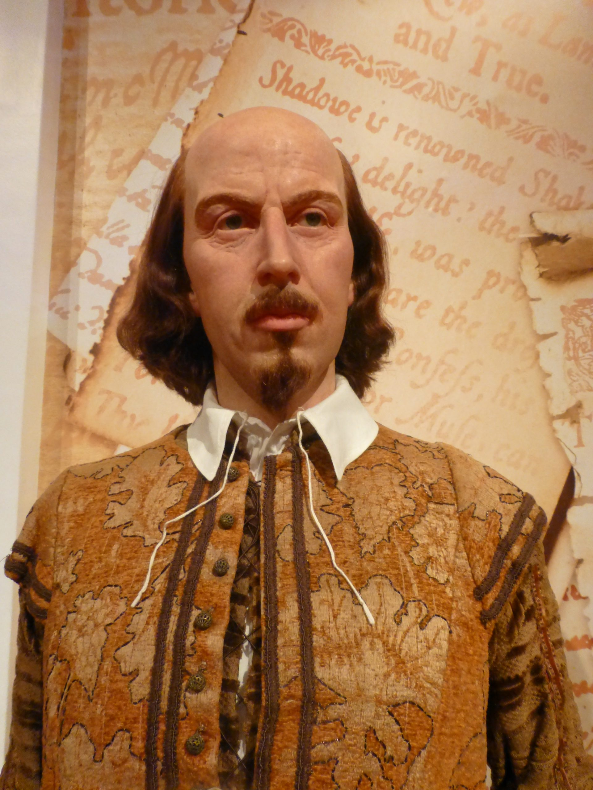 William Shakespeare bei Madame Tussauds