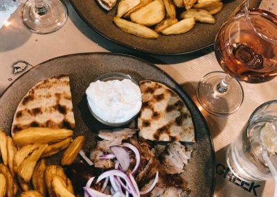 typisch griechisches Essen