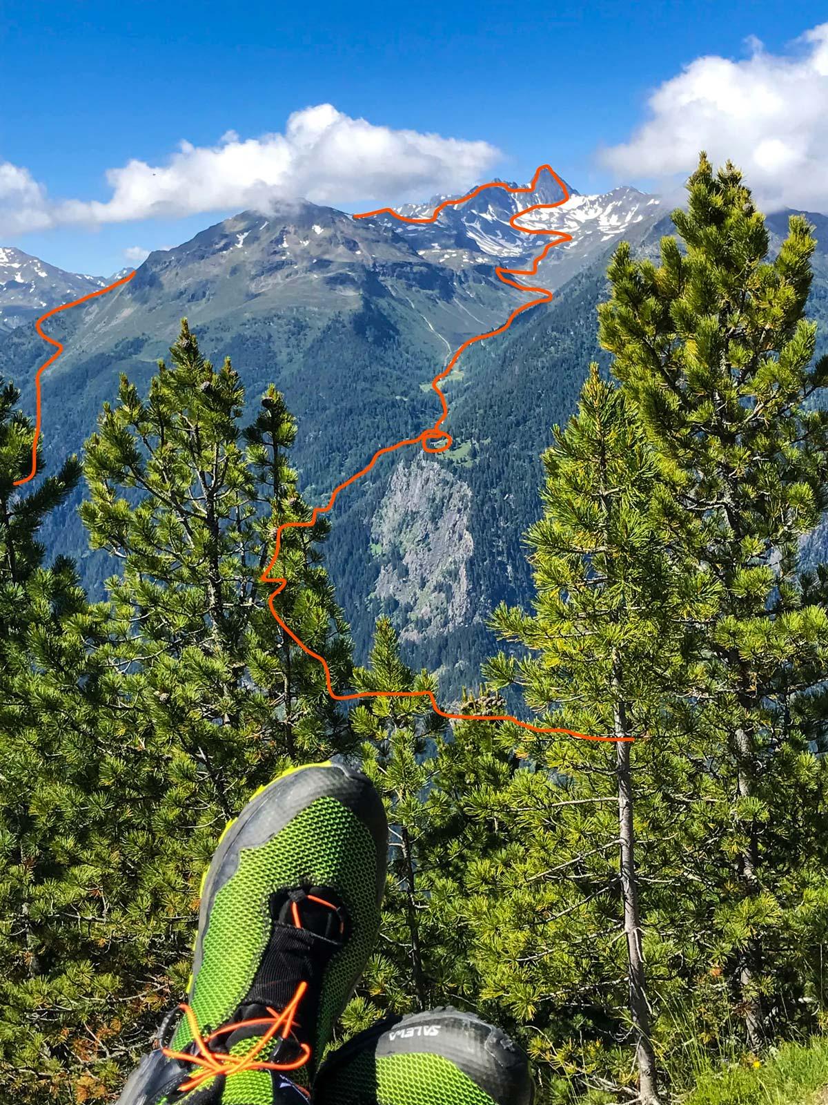 2 Tagestour Erlangerhütte und Wildgrat