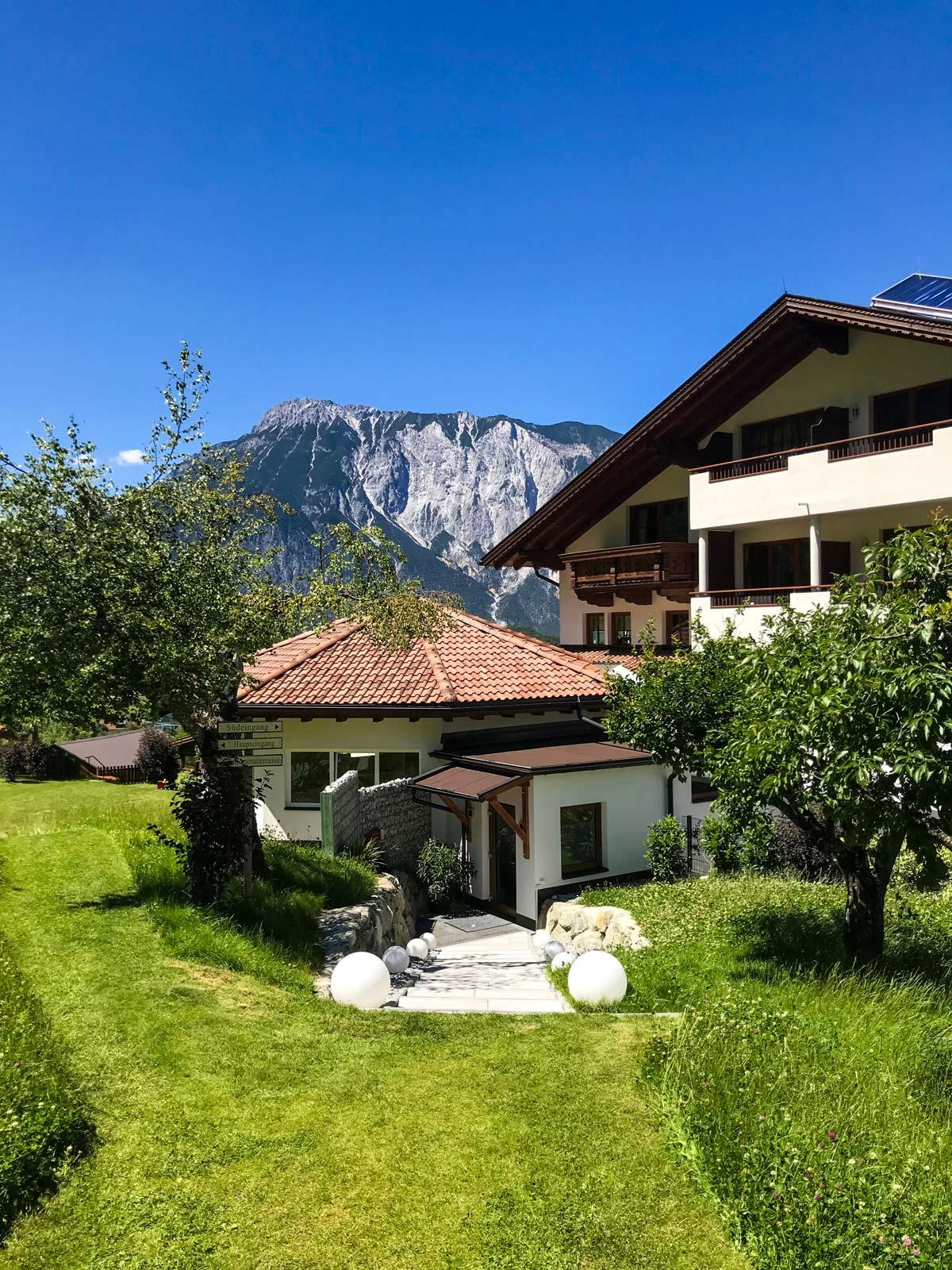 Ausblick Hotel Daniel