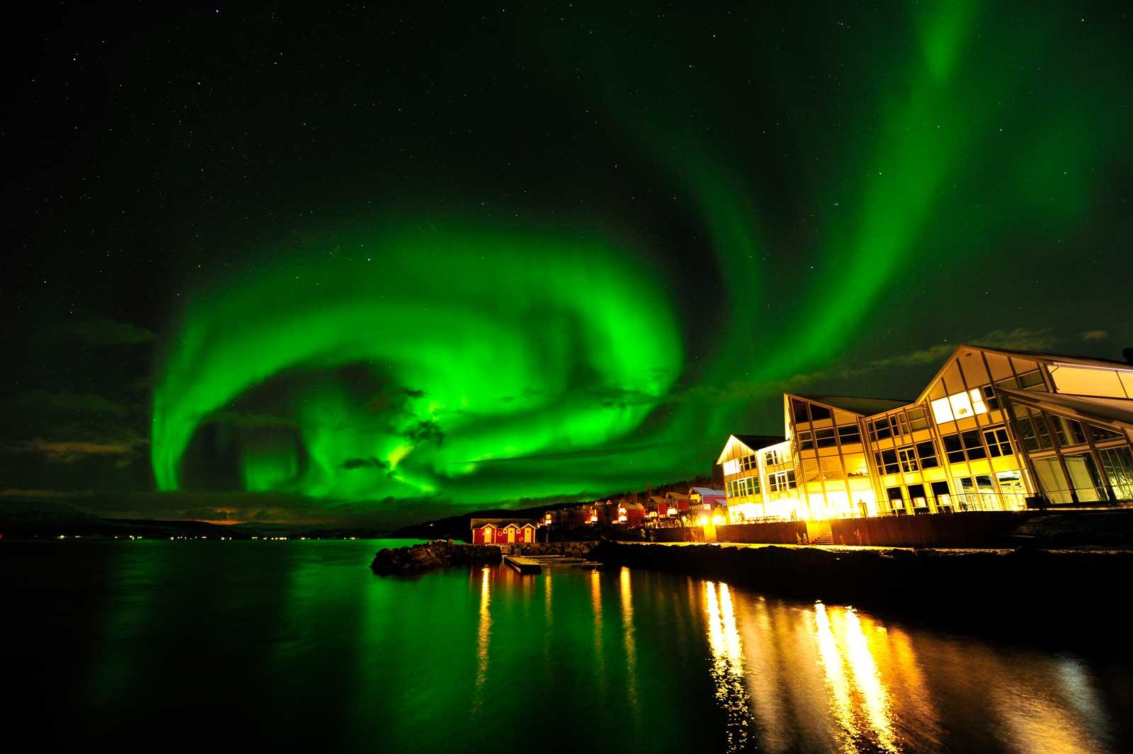 faszinierendes Naturschauspiel: die Nordlichter