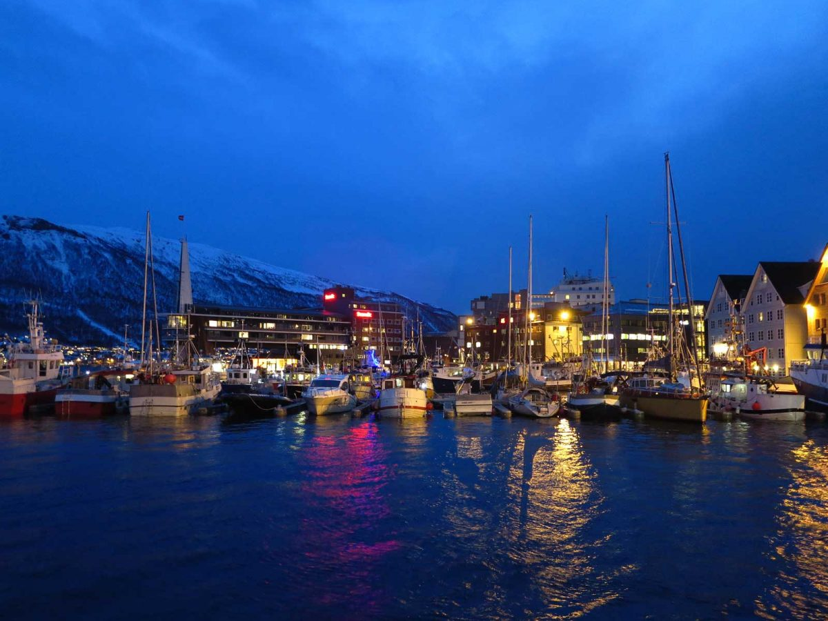 Nachmittag um 14 Uhr in Tromsø