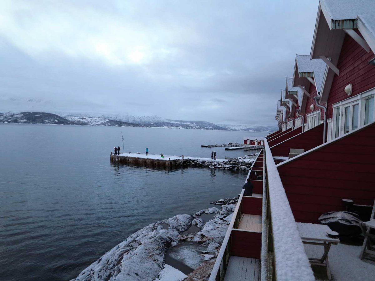 Malangen Resort - toller Ausgangspunkt für winterliche Aktivitäten wie Schneeschuhwandern, Hundeschlittentour, Langlauf, Schlittenfahren...