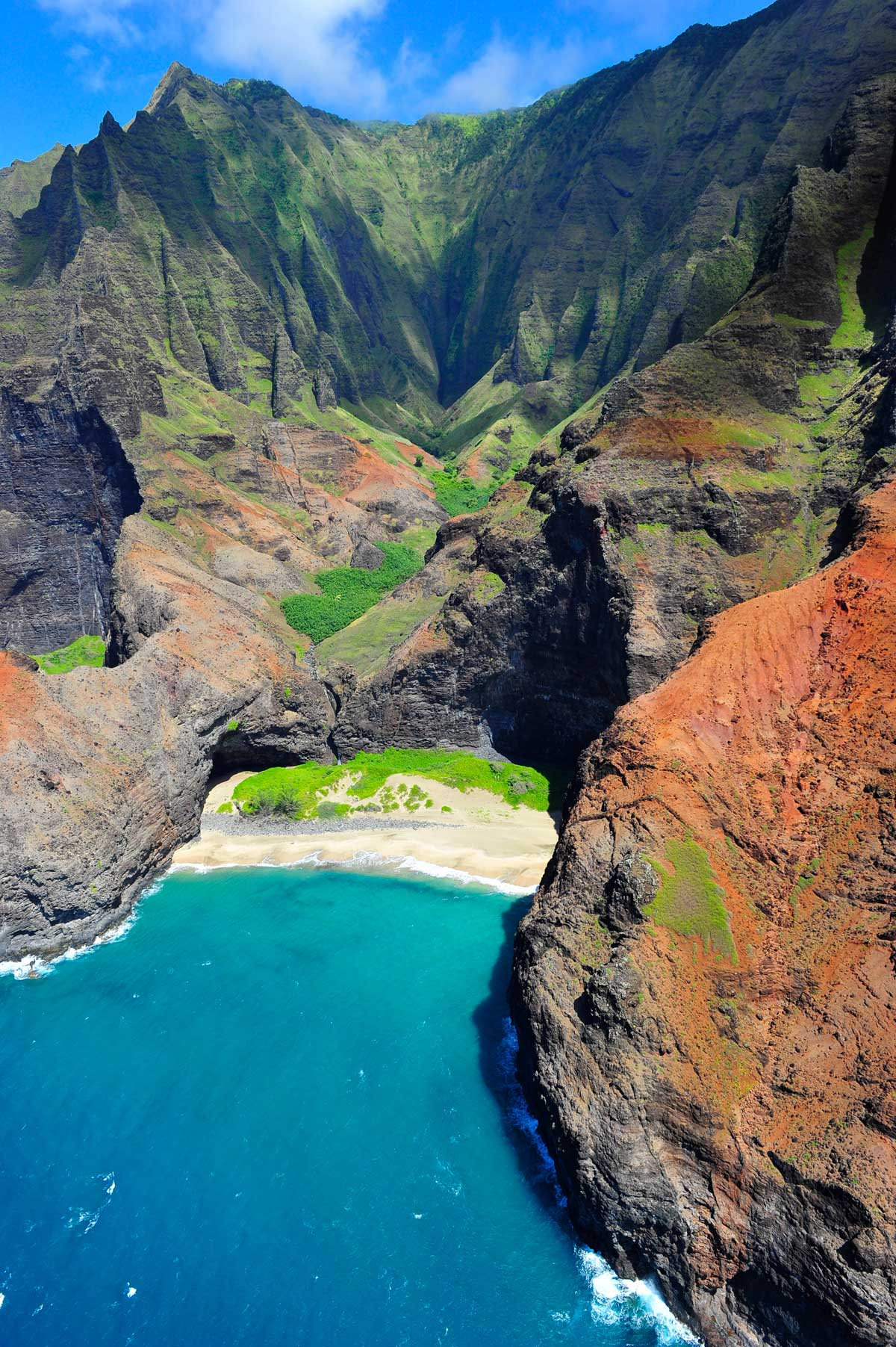 Napali Coast auf Kauai