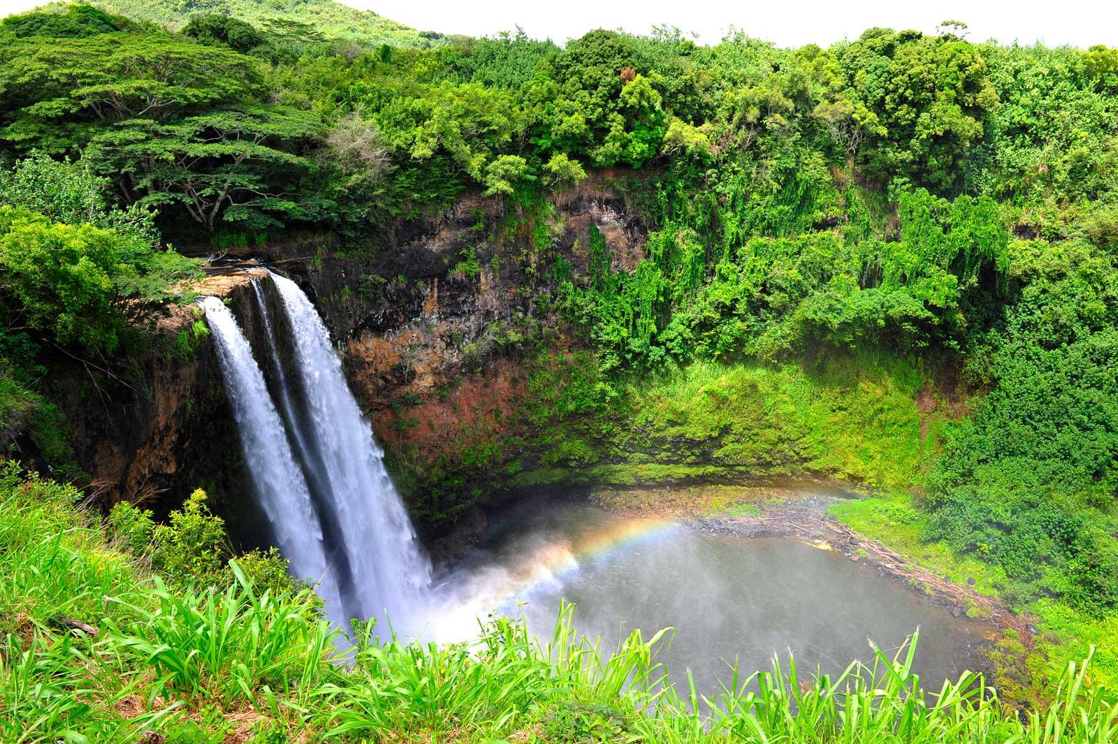 Wailua-Wasserfall