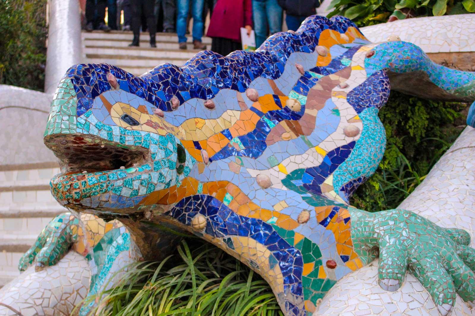 Kunst im Park Güell