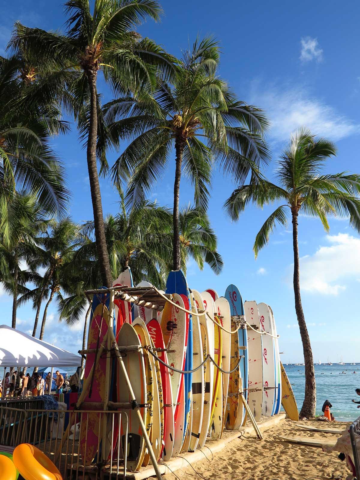 Honolulu auf Oahu