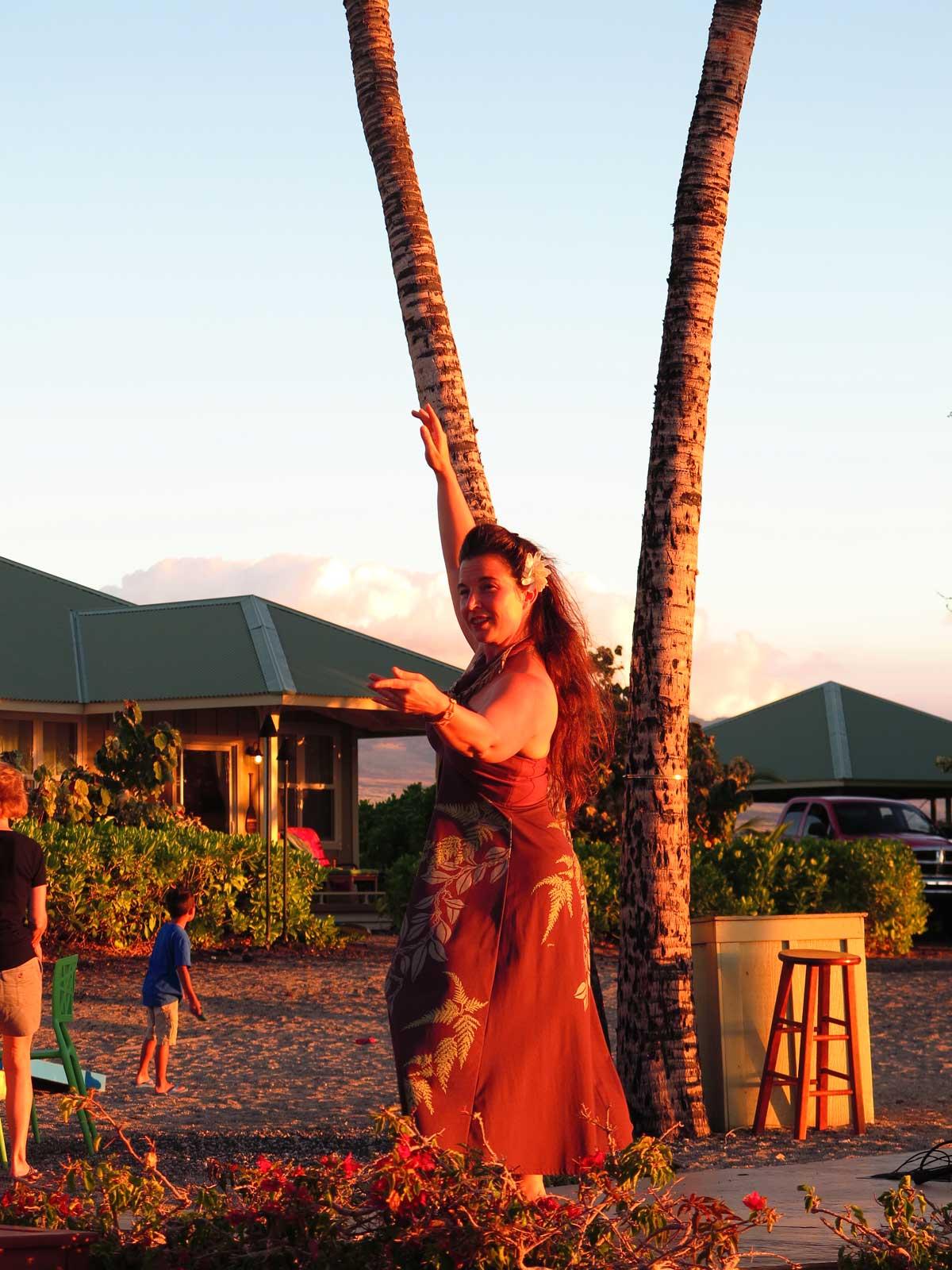 typisch für Hawaii: der Hula