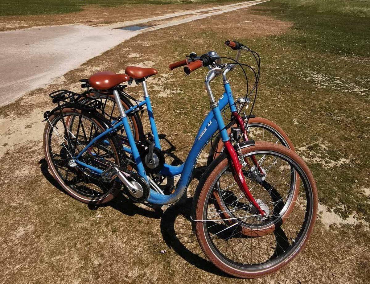 Unterwegs mit dem Fahrrad...