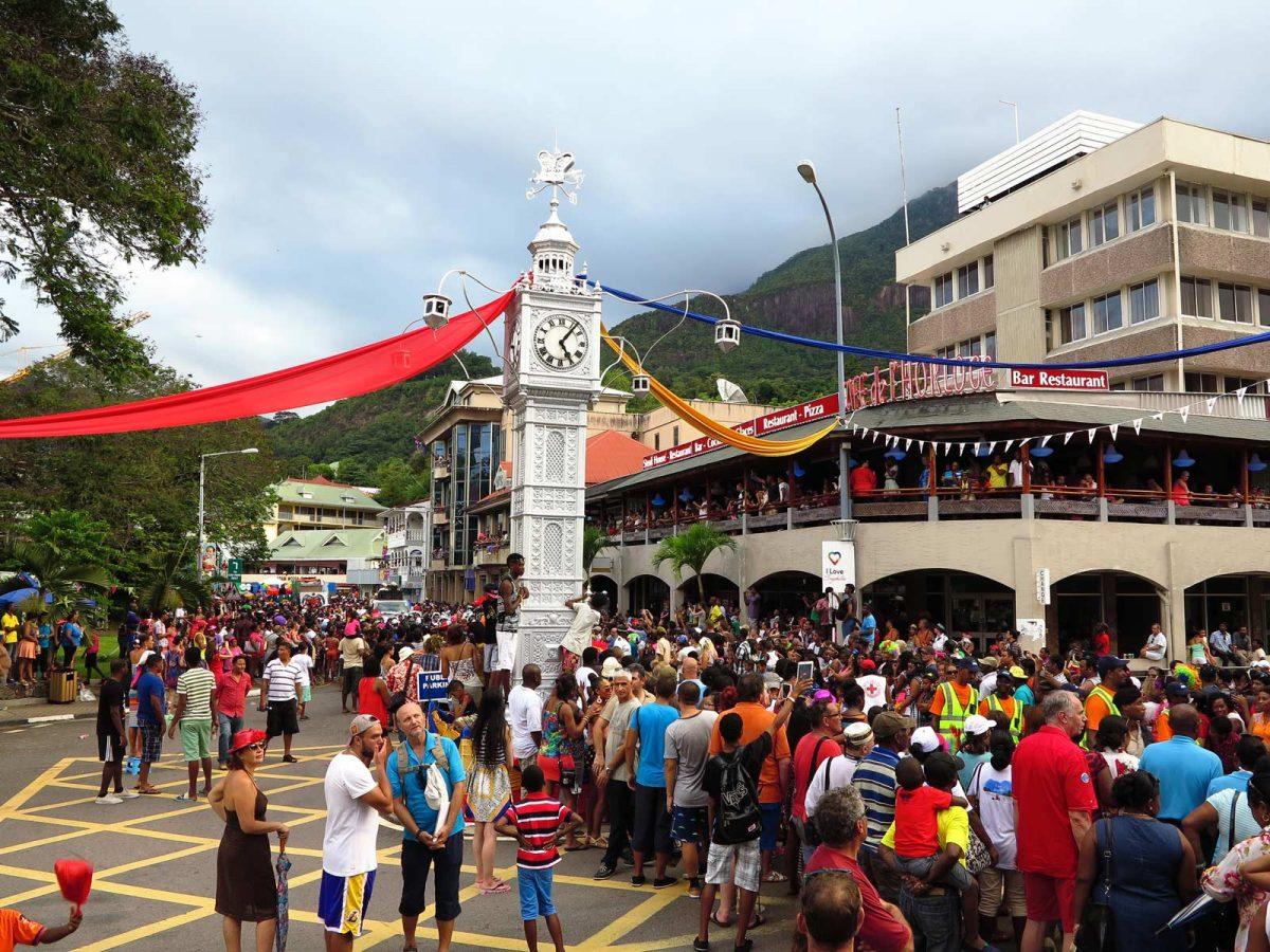 Karneval auf den Seychellen