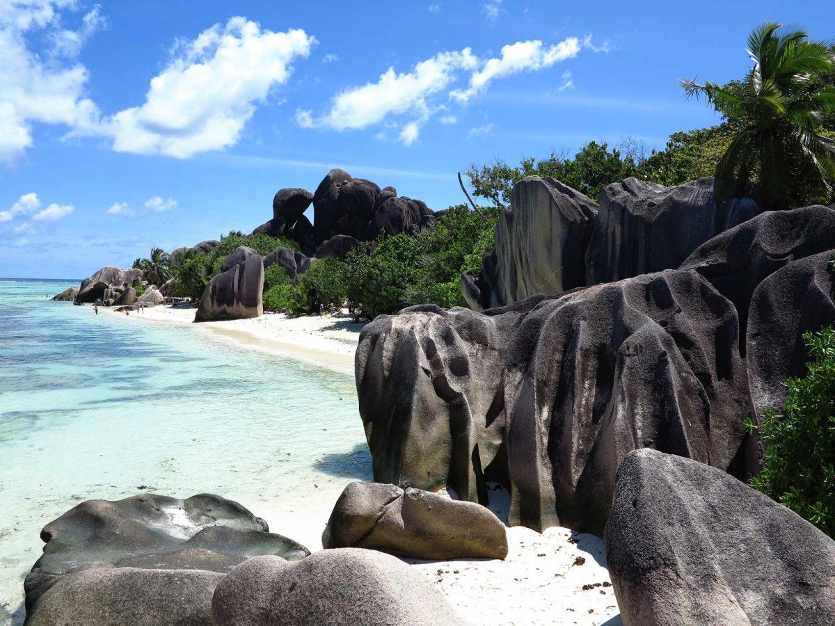 Der Anse Source D'Argent - wohl der bekannteste Strand der Seychellen