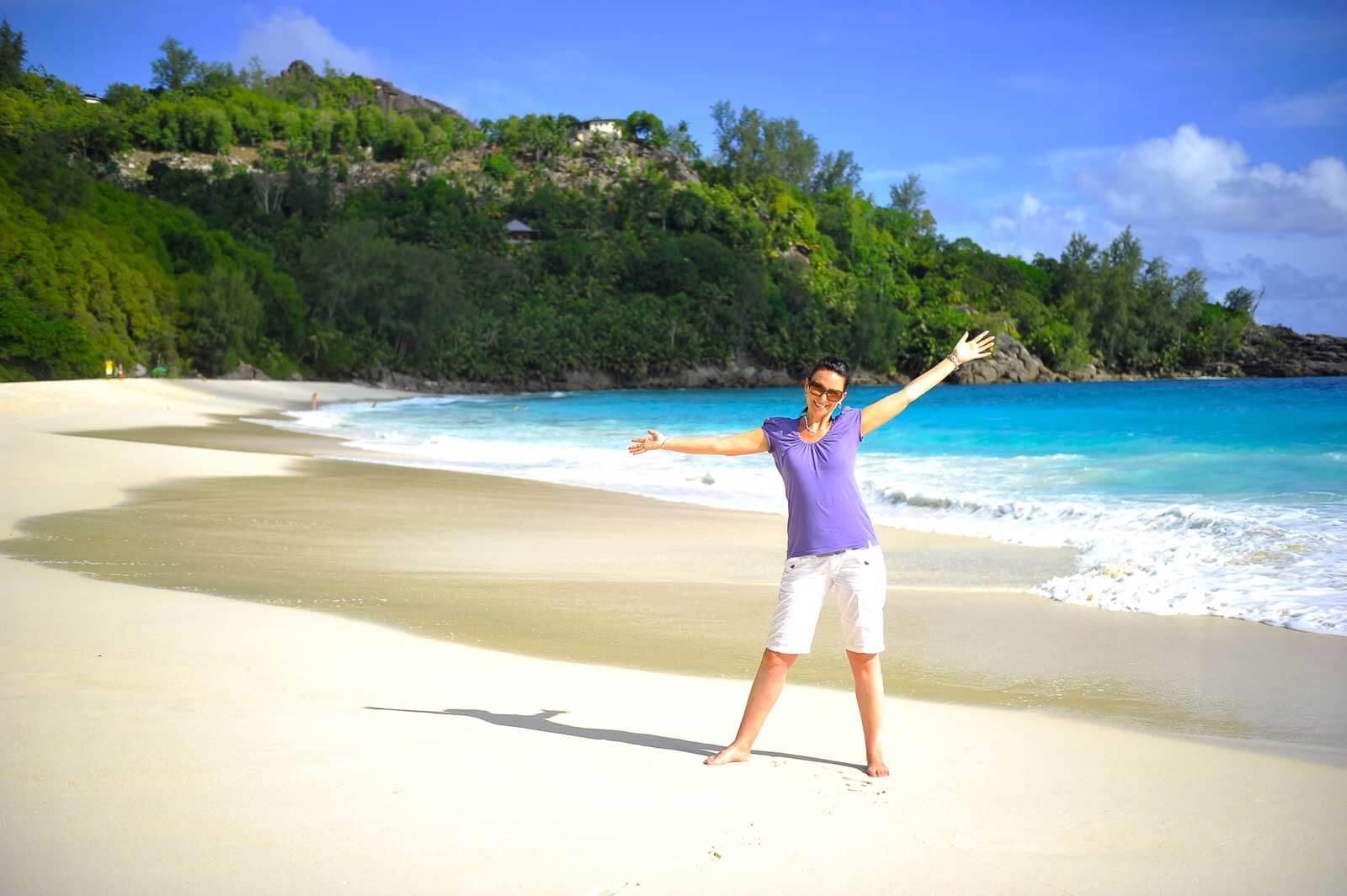 Strand Anse Intendance auf Mahé