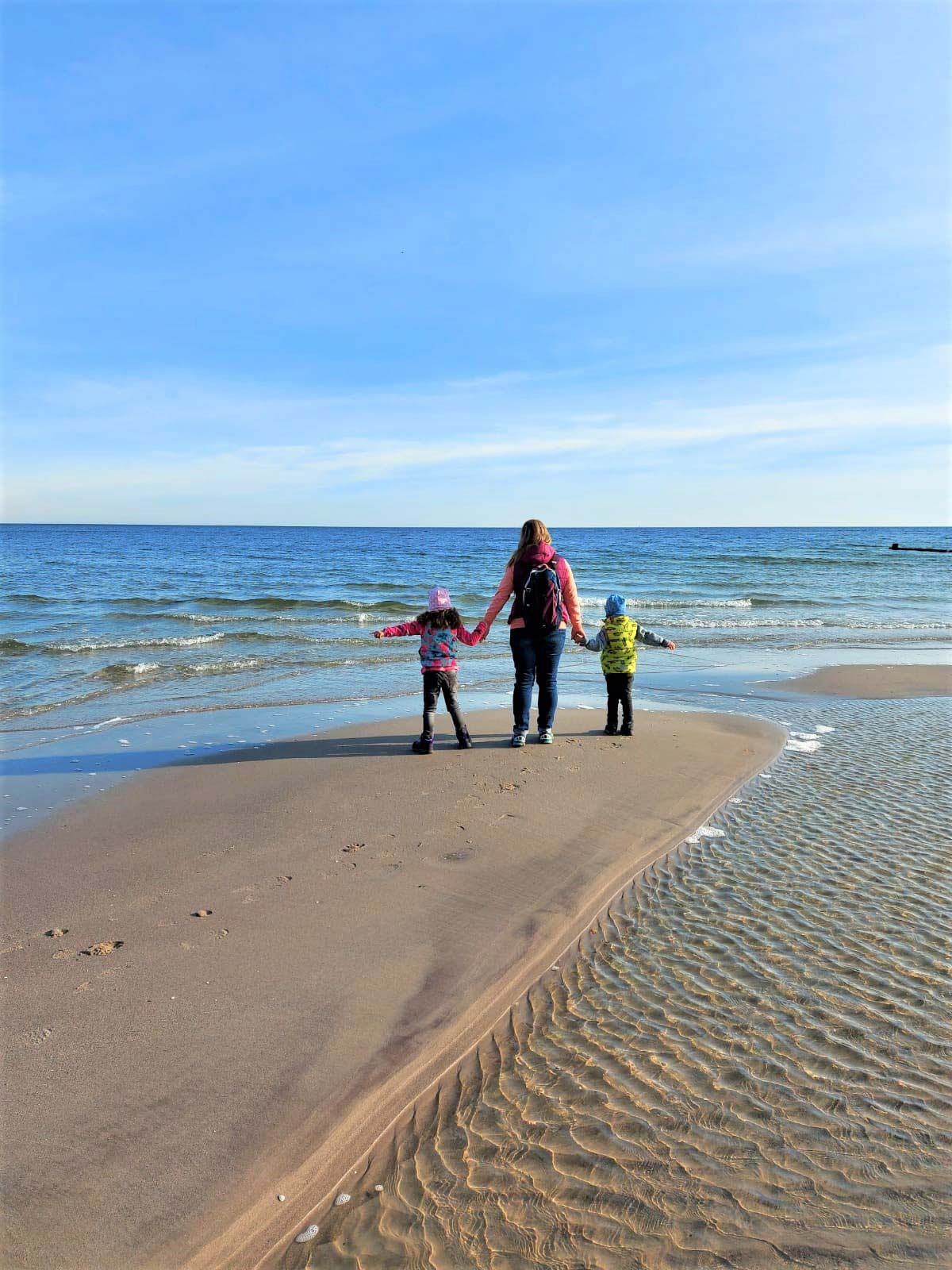 Strandfeeling mit den Kindern