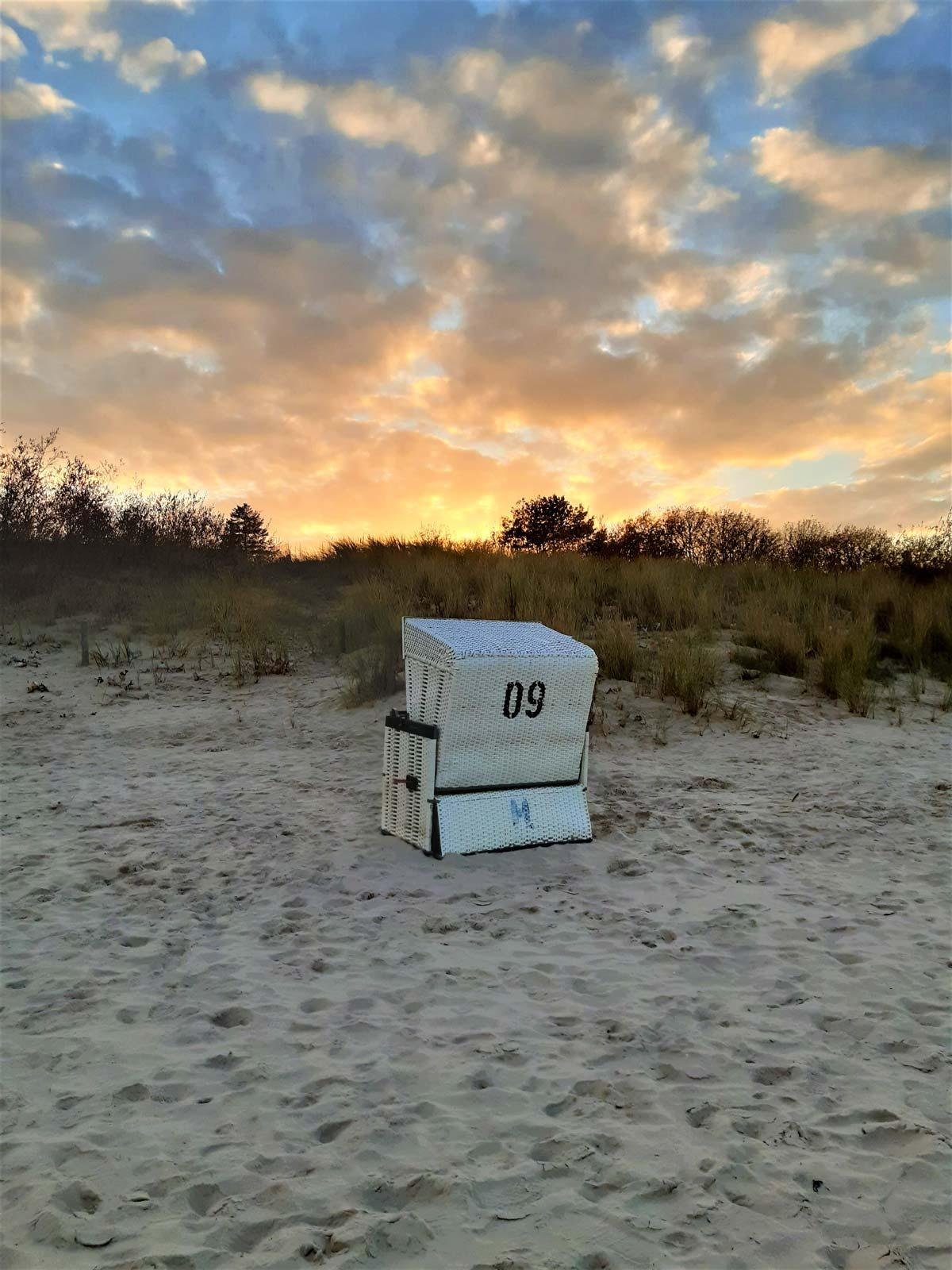Strandkorb in Ahlbeck