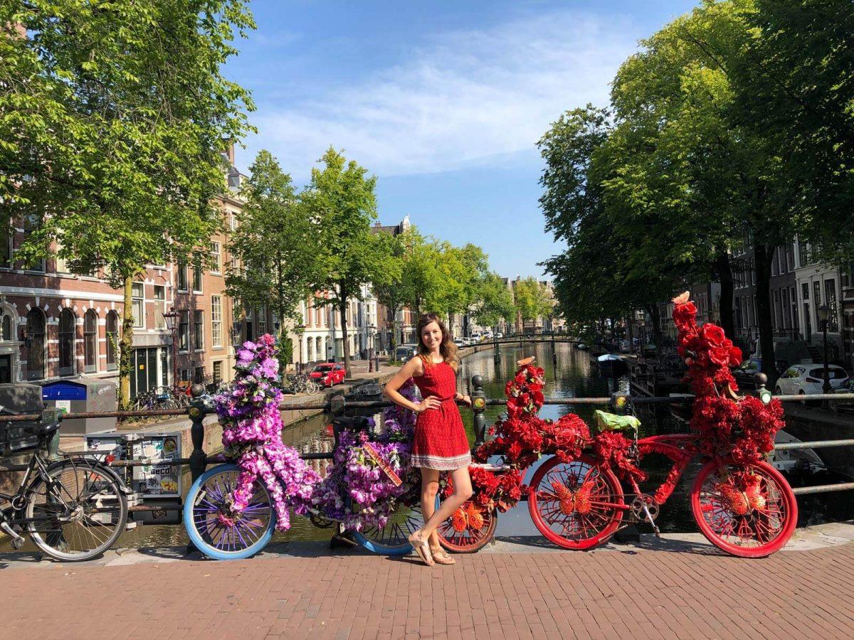 Für Sie unterwegs in Amsterdam - Vanessa Bürgel