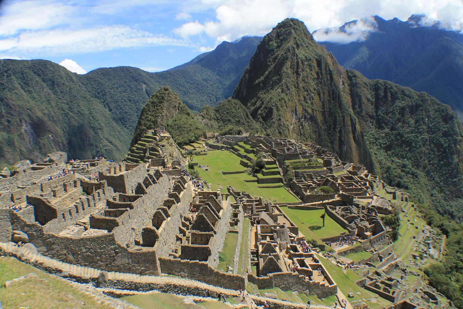 Machu Picchu - die Stadt über den Wolken