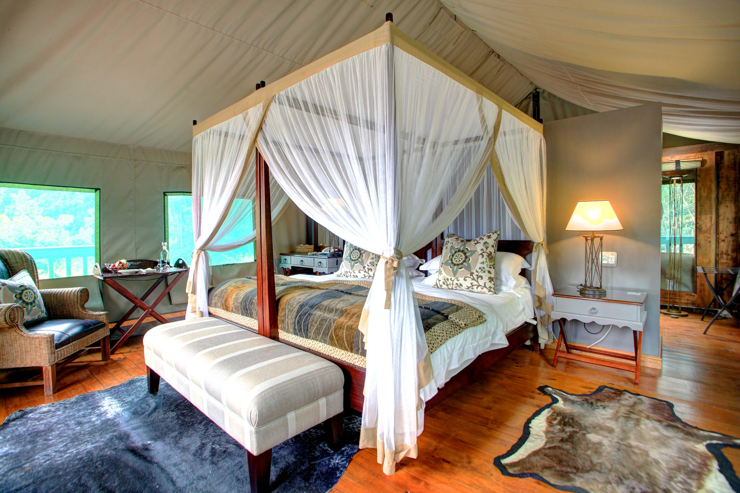 Foto: © Botlierskop Main Lodge Luxury Tented Suite