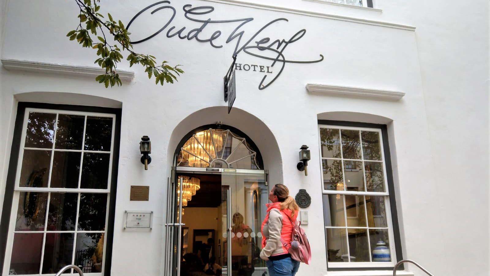 Eingang Oude Werf Hotel