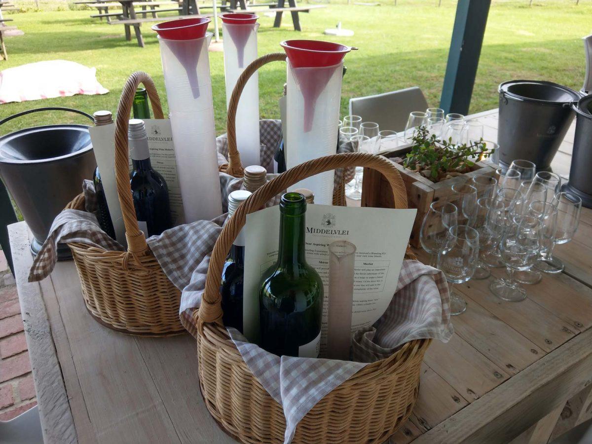 Weinverkostung in Stellenbosch