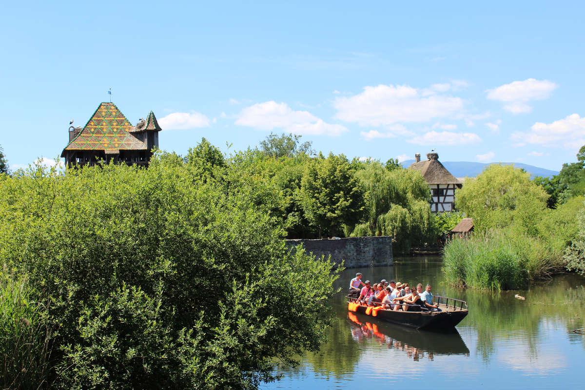 Balade en barque - Ecomusée d'Alsace--®Ecomusée d'Alsace
