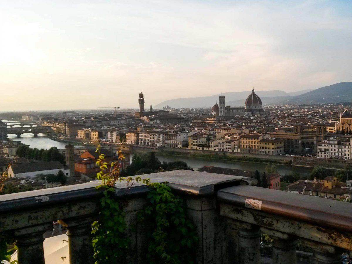 Florenz von oben