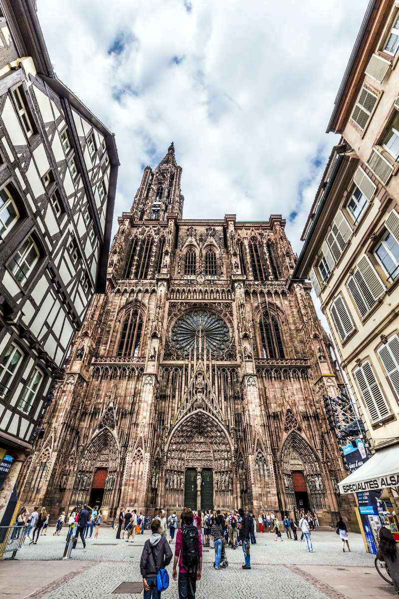 Kathedrale in Strasbourg--®Istock