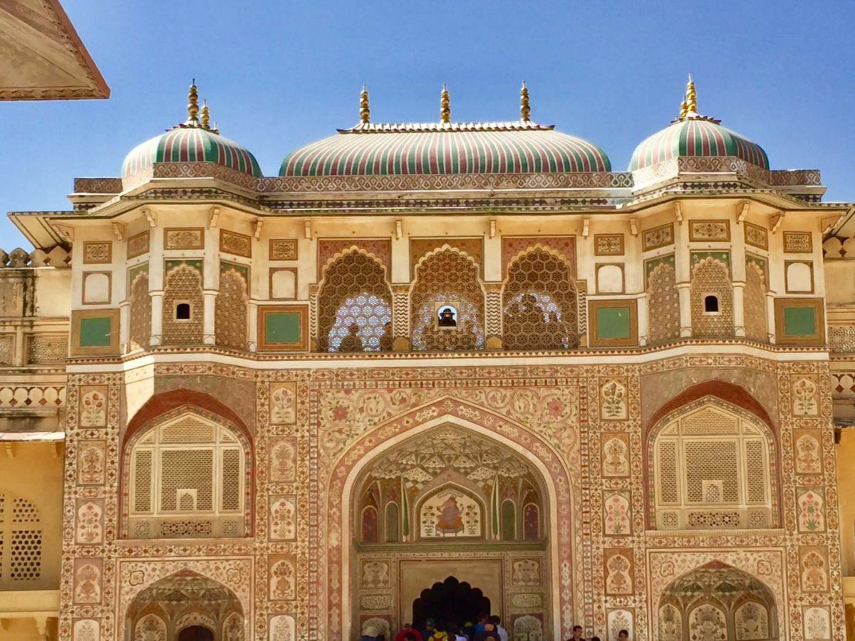 Amber Fort - eine Festung in Amer, Rajasthan, Indien