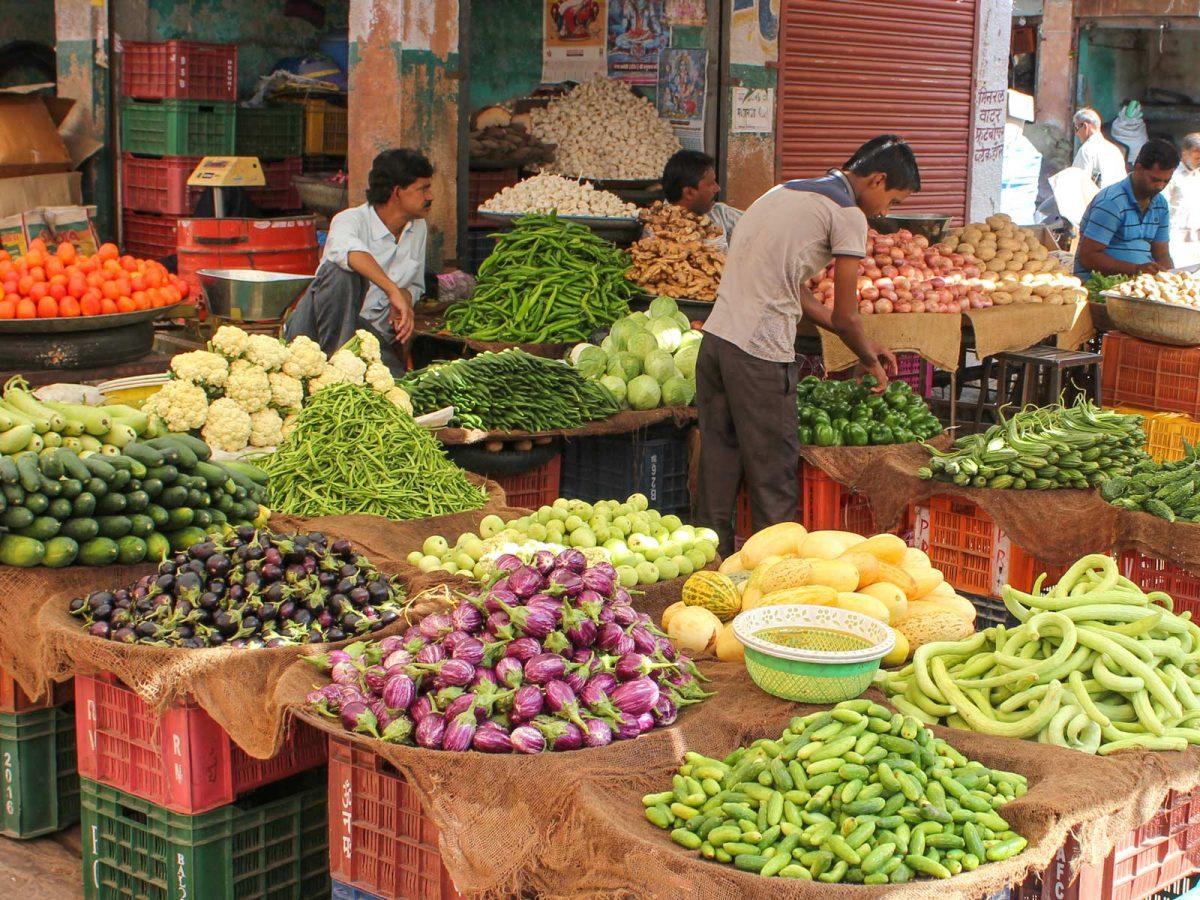 typischer Markt