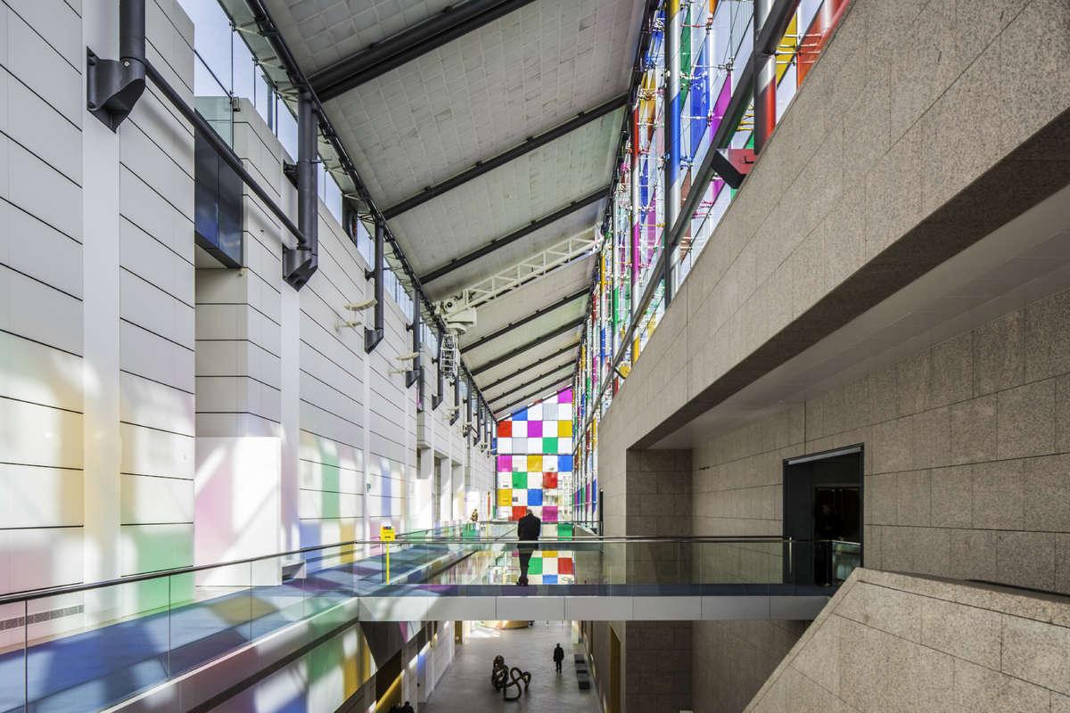 Museum d'Art Moderne et Contemporain in Strasbourg--® Emmanuel VIVERGE