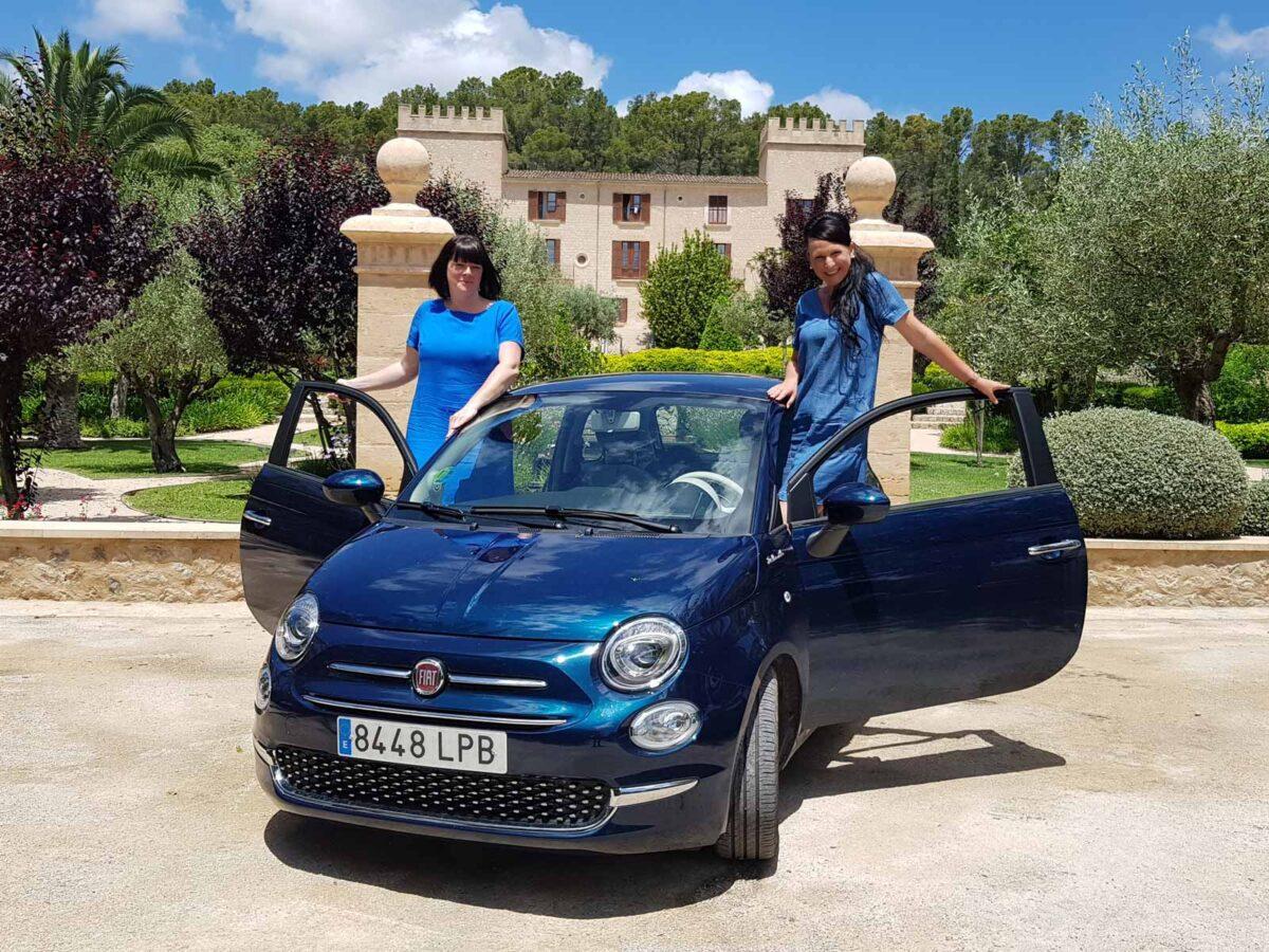 Unterwegs mit unserem spritzigen Fiat 500