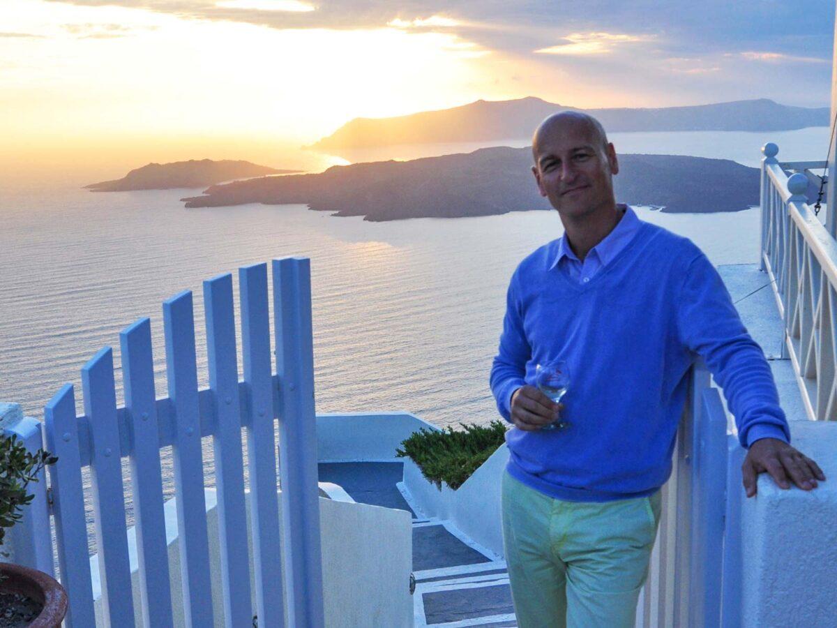 Good News: Genusswandern mit Patrick auf Santorin