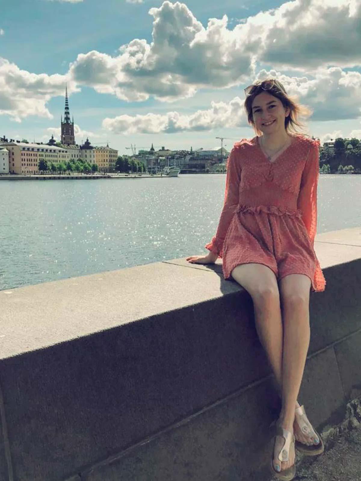 Stockholm Insel Riddarholmen